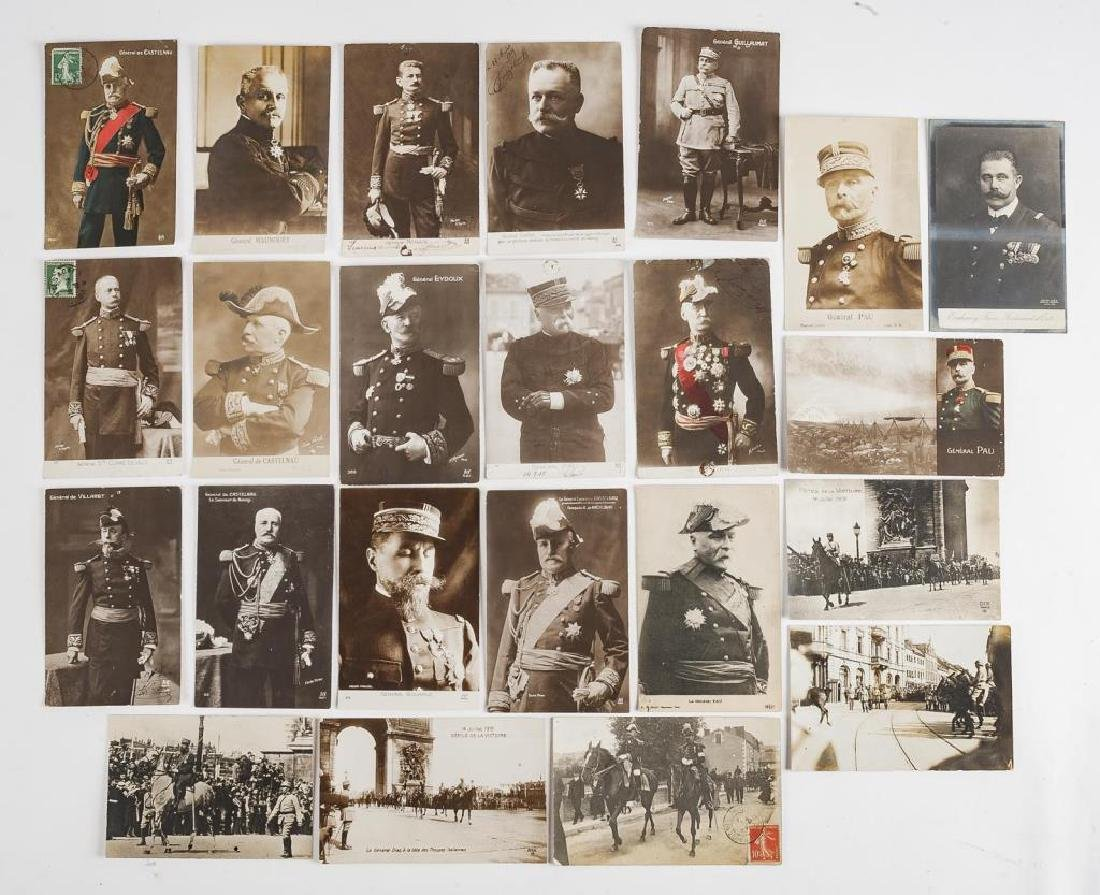 23 Vintage WWI French Postcards