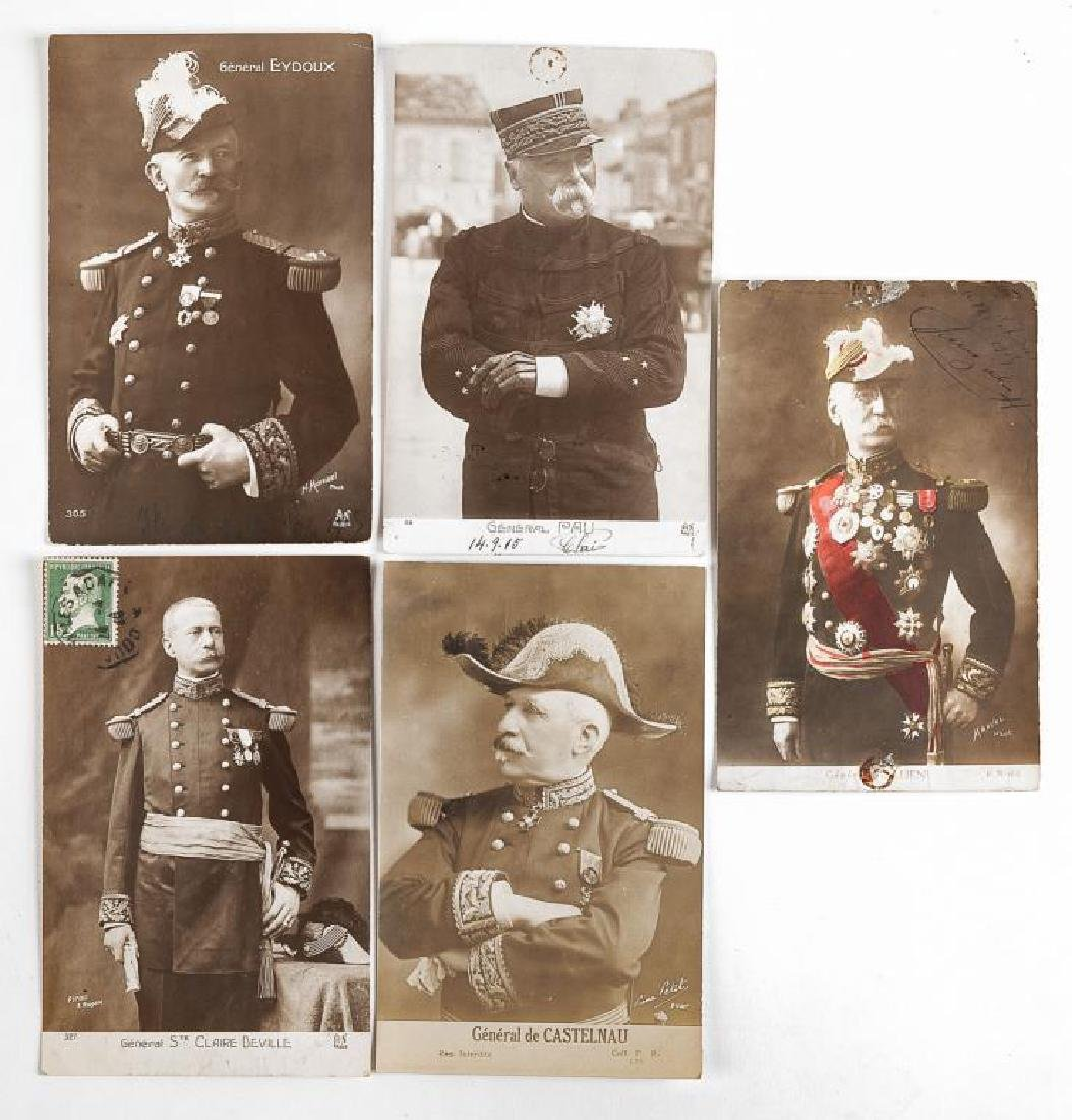 23 Vintage WWI French Postcards - 2