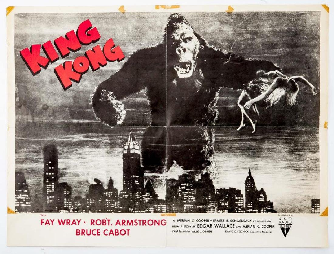 1952 RKO King King Movie Poster