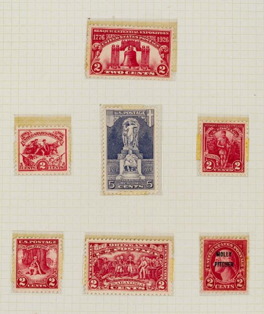 US Stamps Early 20th Century Commemoratives