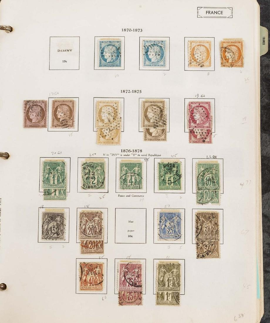 1849-1948 French Stamp Album