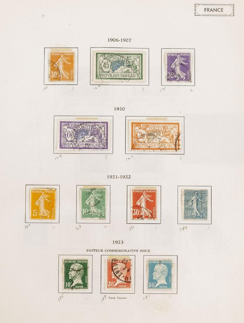 1849-1948 French Stamp Album - 3