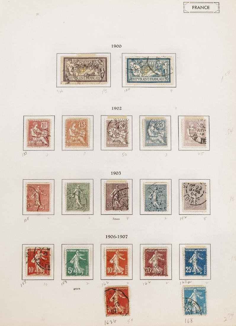 1849-1948 French Stamp Album - 4