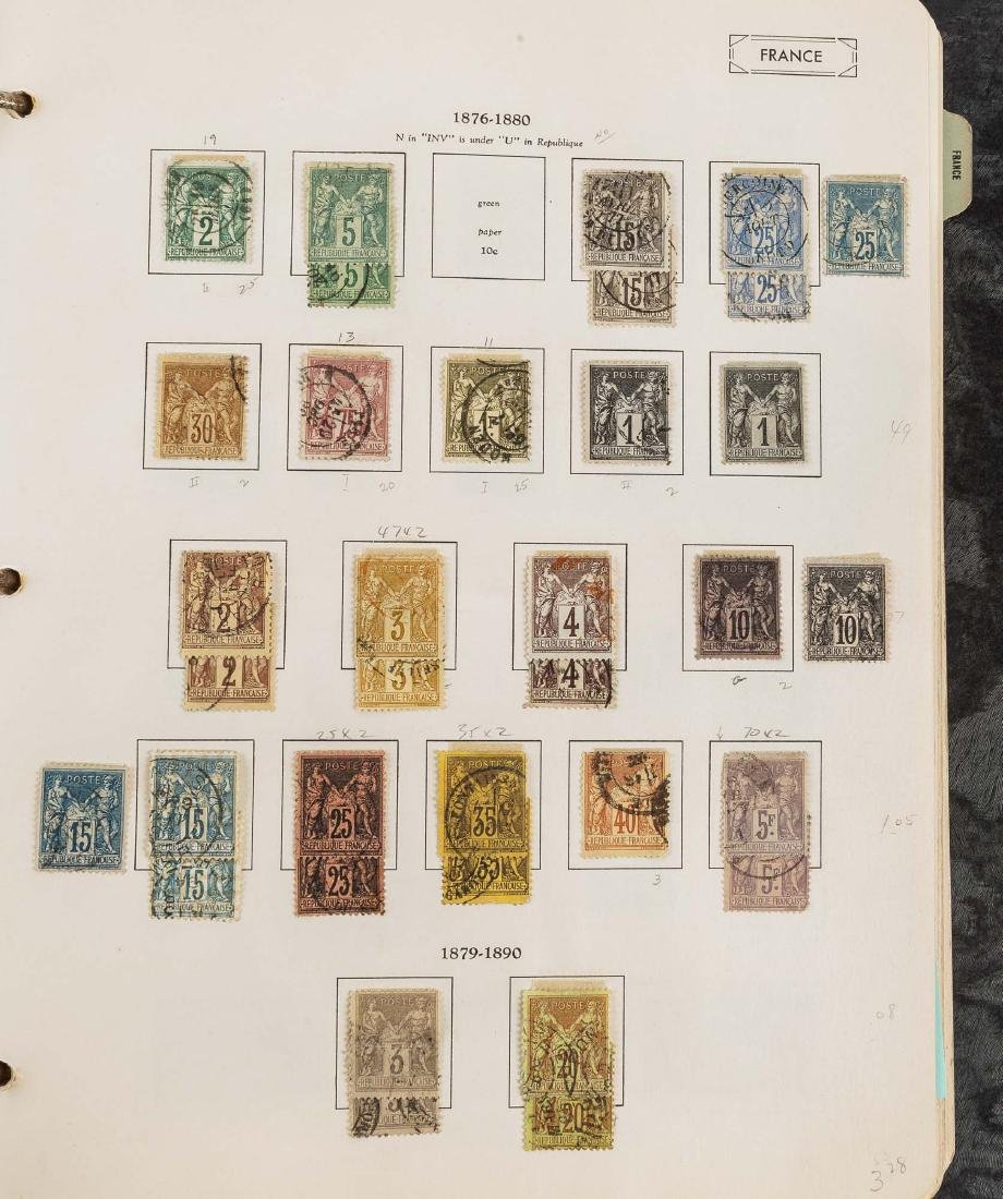 1849-1948 French Stamp Album - 6