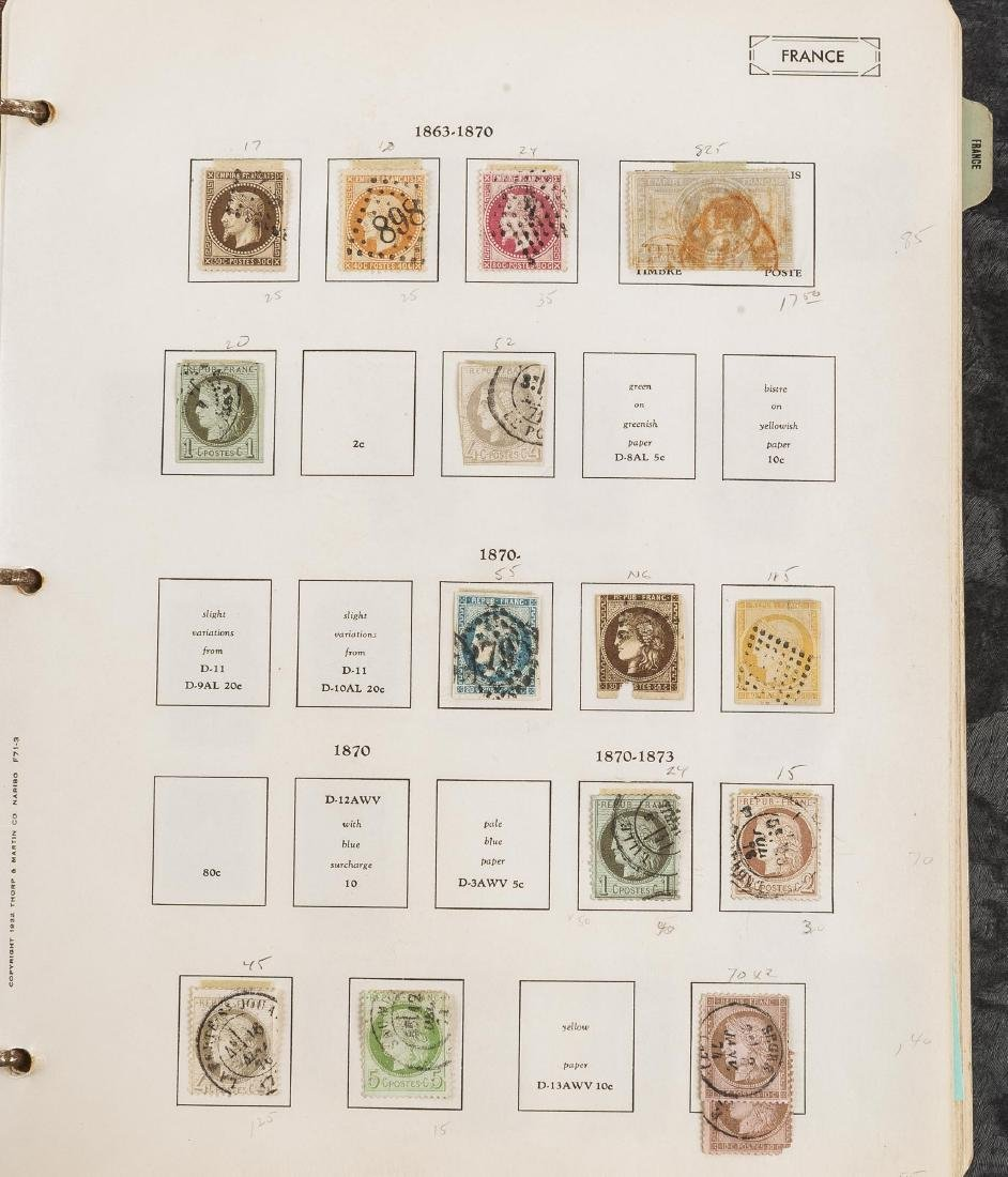 1849-1948 French Stamp Album - 7