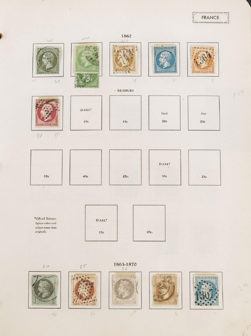 1849-1948 French Stamp Album - 8
