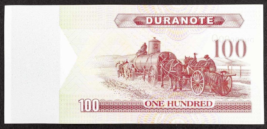 16 Duranote 100 Units Banknote Specimens - 2