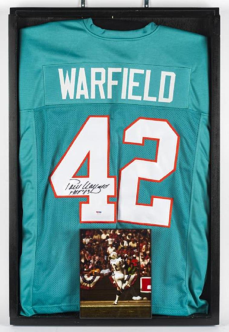 Autographed Paul Warfield Football Jersey