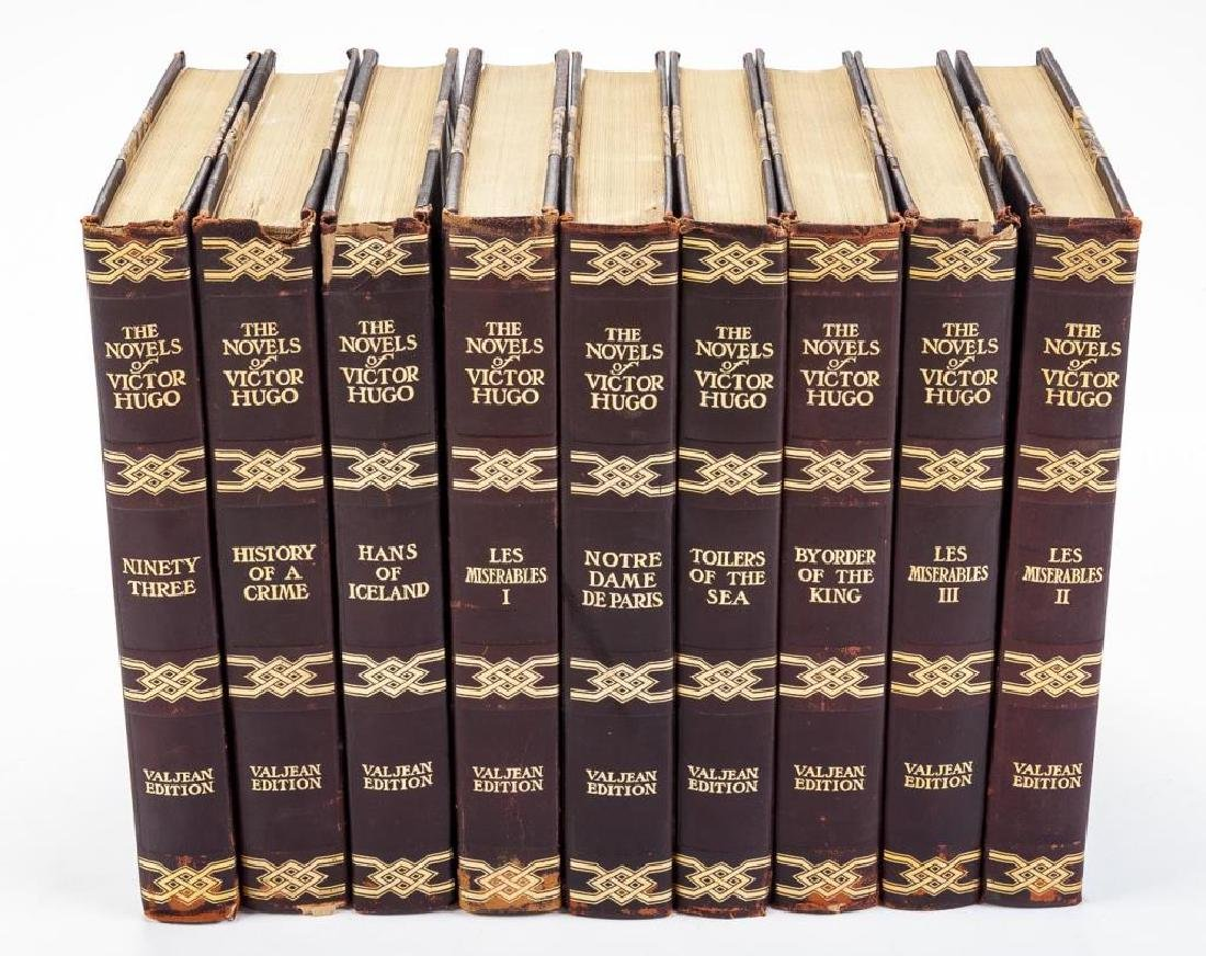9 Vols. The Novels of Victor Hugo