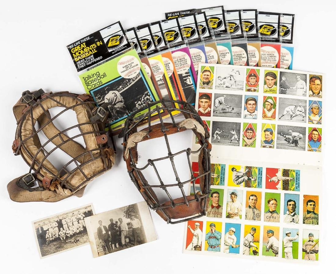17 Pcs Baseball Sports Memorabilia