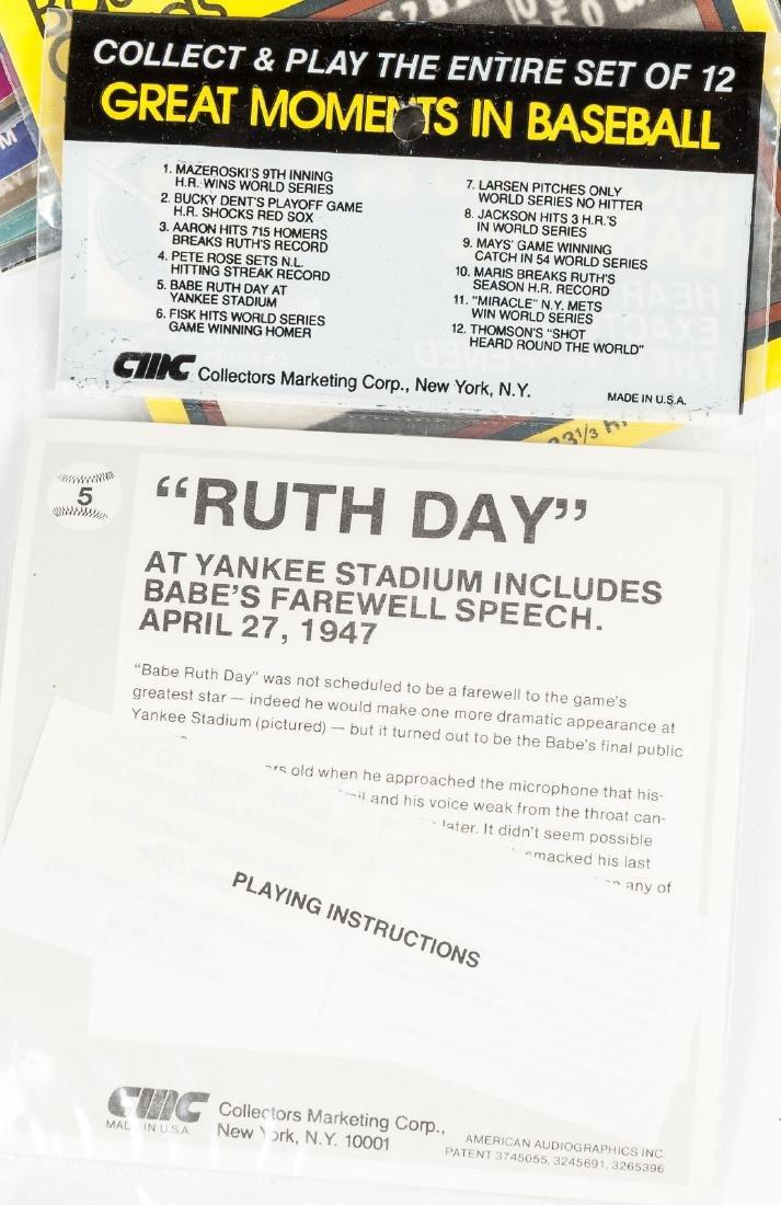 17 Pcs Baseball Sports Memorabilia - 7