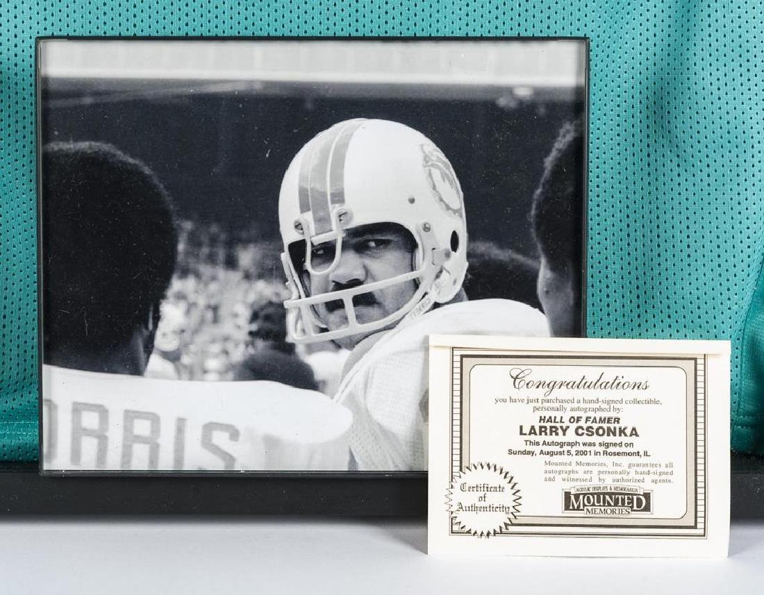 Autographed Larry Csonka Football Jersey - 2
