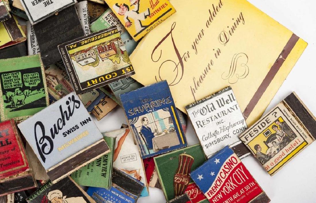 127 Matchbooks incl. Hotels and Restaurants - 2