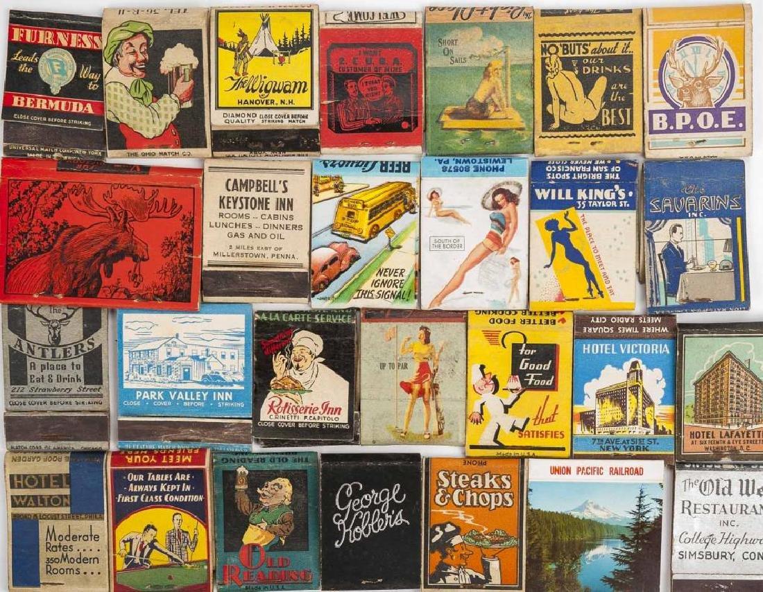 127 Matchbooks incl. Hotels and Restaurants - 3
