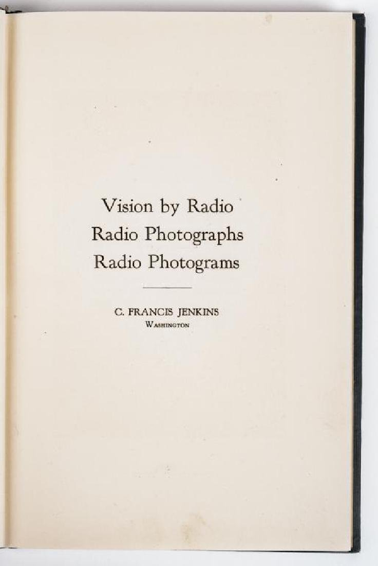 Vision by Radio; Radio Photographs by C.F. Jenkins