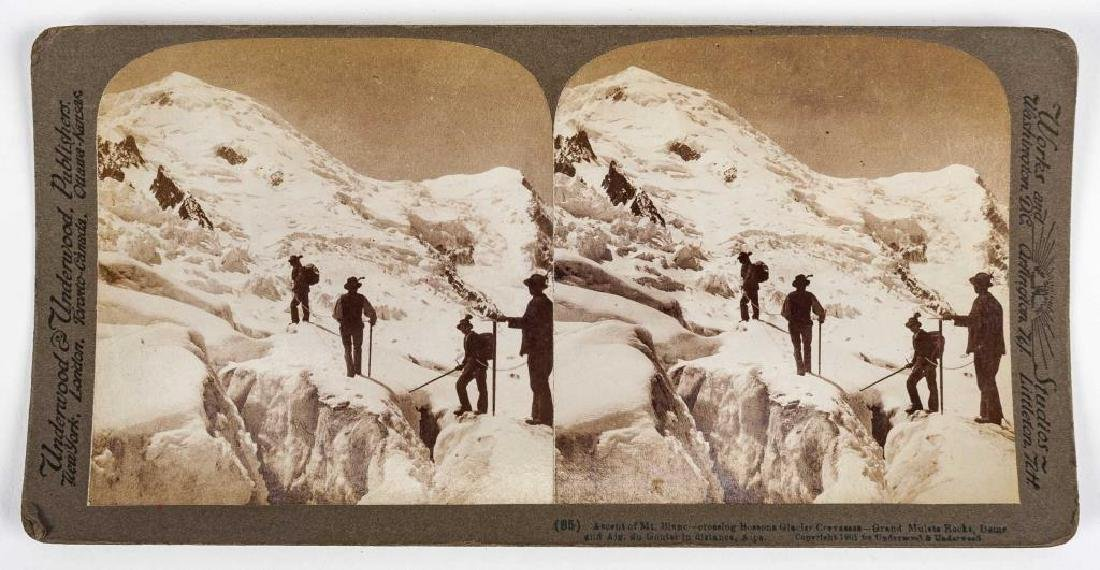 99 Stereoview Cards Incl Switzerland - 2