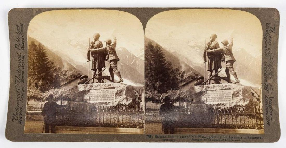 99 Stereoview Cards Incl Switzerland - 3