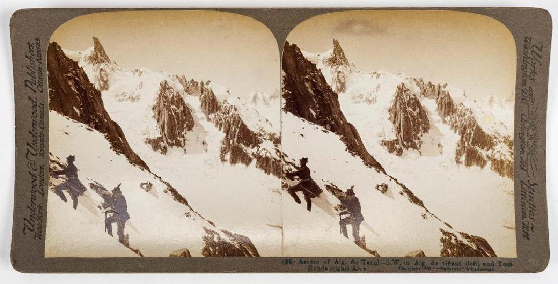 99 Stereoview Cards Incl Switzerland - 6
