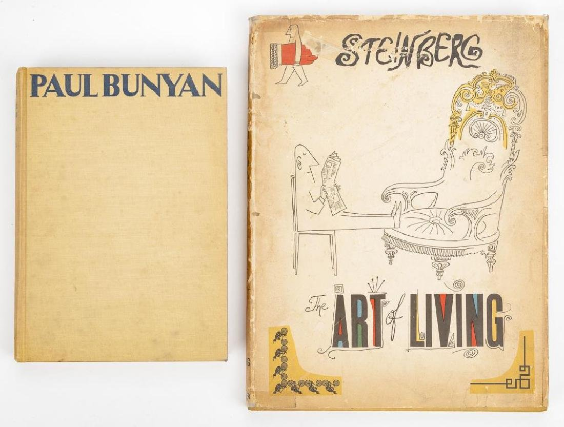 2 Books Illustrated by S. Steinberg & R. Kent