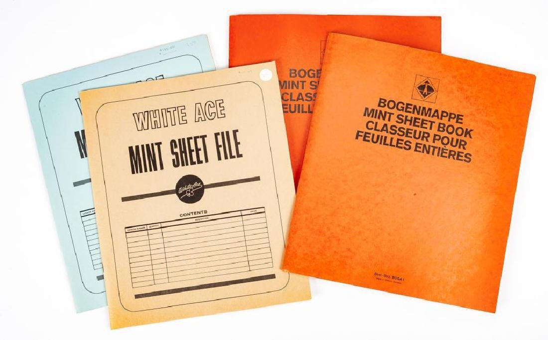 1970s-80s Mint Postage Sheets - 3