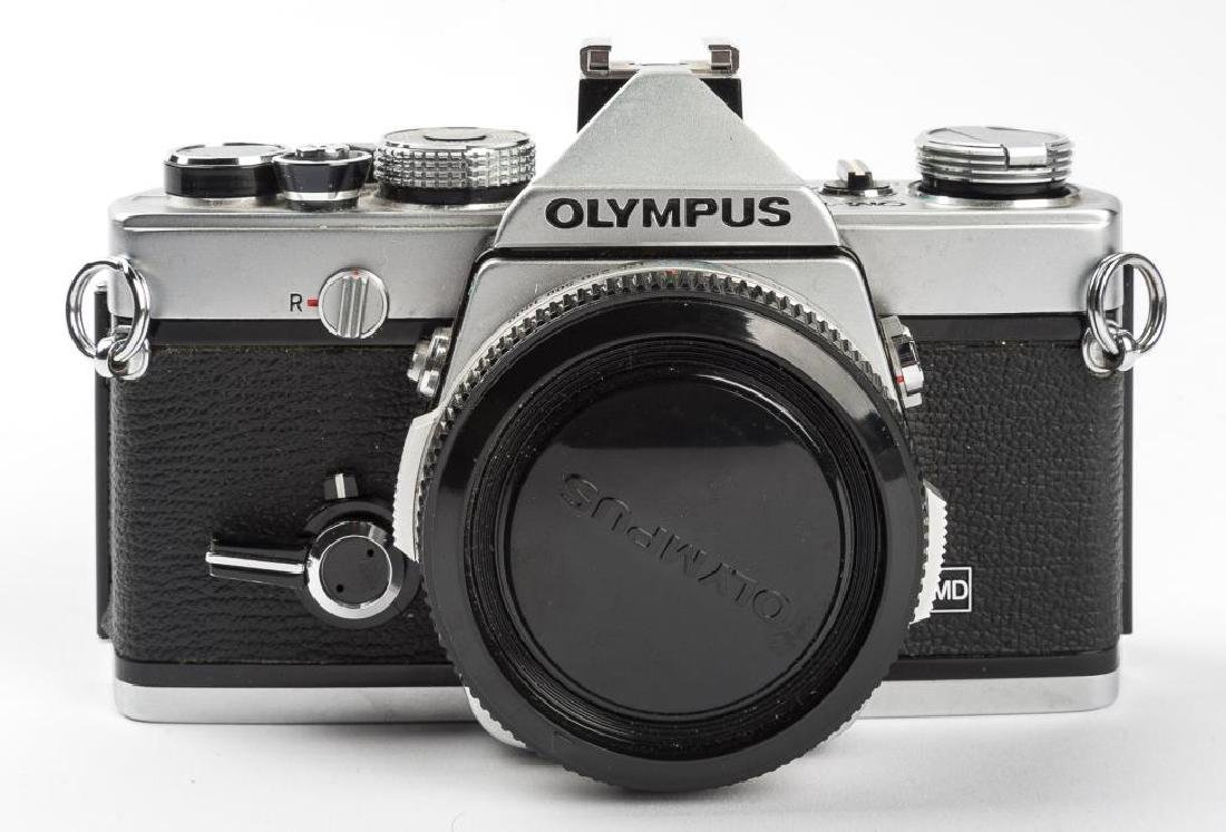 Olympus OM-1 35mm Camera Outfit in Case - 4