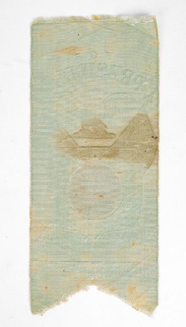 Grover Cleveland Campaign Ribbon with Photo - 2