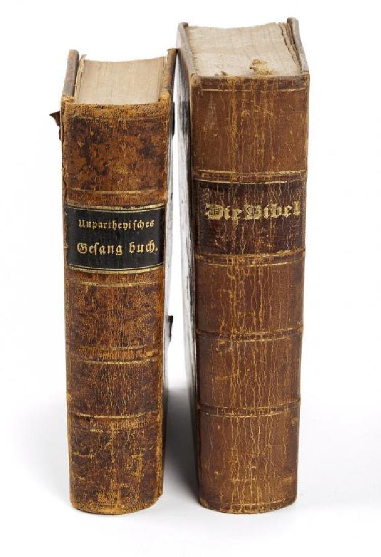 2 German Volumes incl. Unparthenisches Gesang-Buch