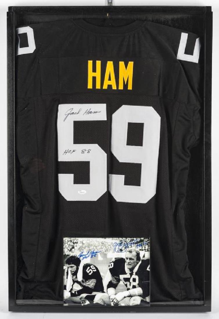 Autographed Jack Ham Football Jersey