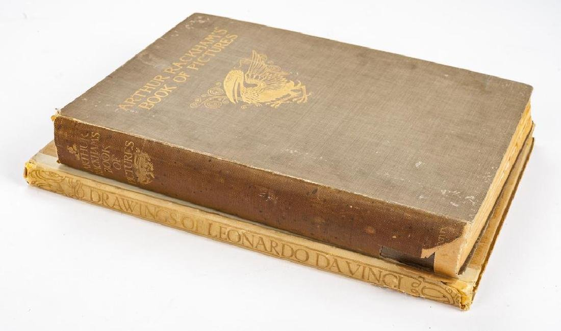 2 Books Incl Arthur Rackham's Book of Pictures