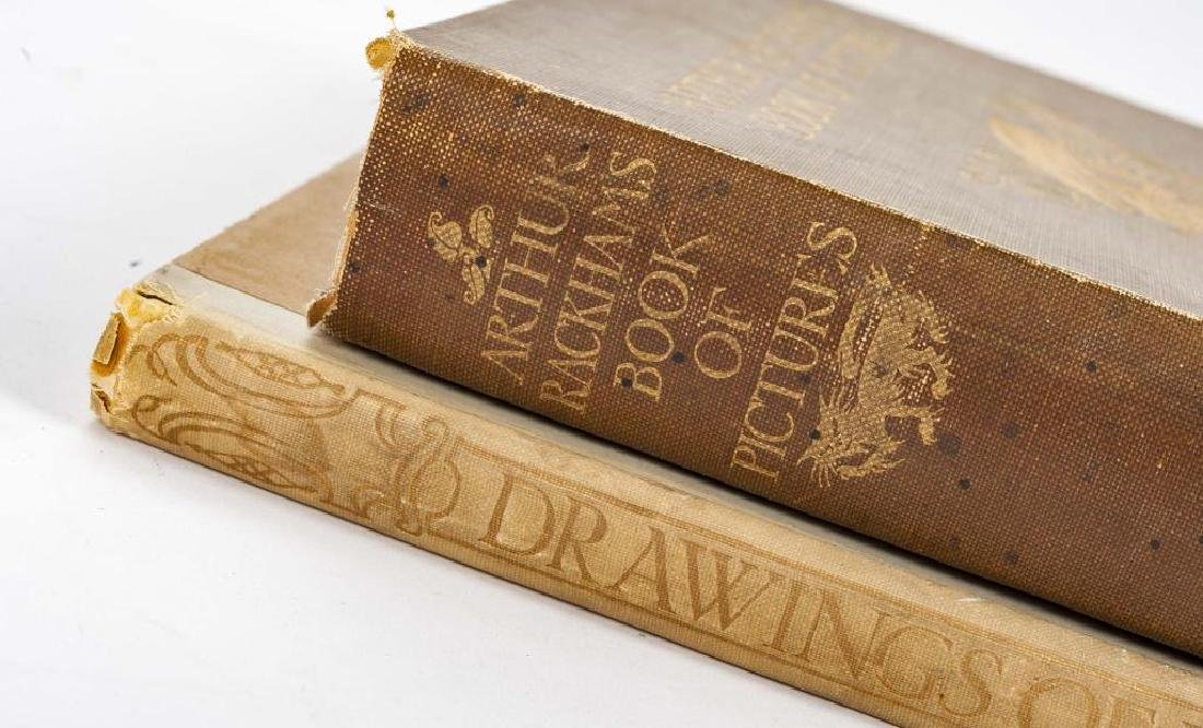 2 Books Incl Arthur Rackham's Book of Pictures - 2
