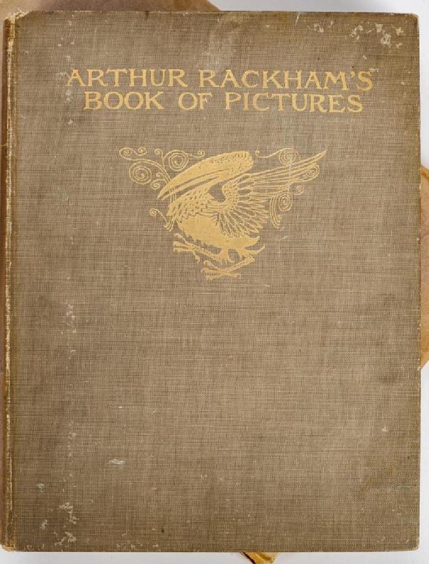 2 Books Incl Arthur Rackham's Book of Pictures - 4