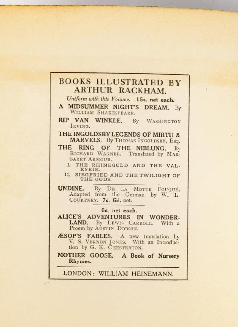 2 Books Incl Arthur Rackham's Book of Pictures - 5