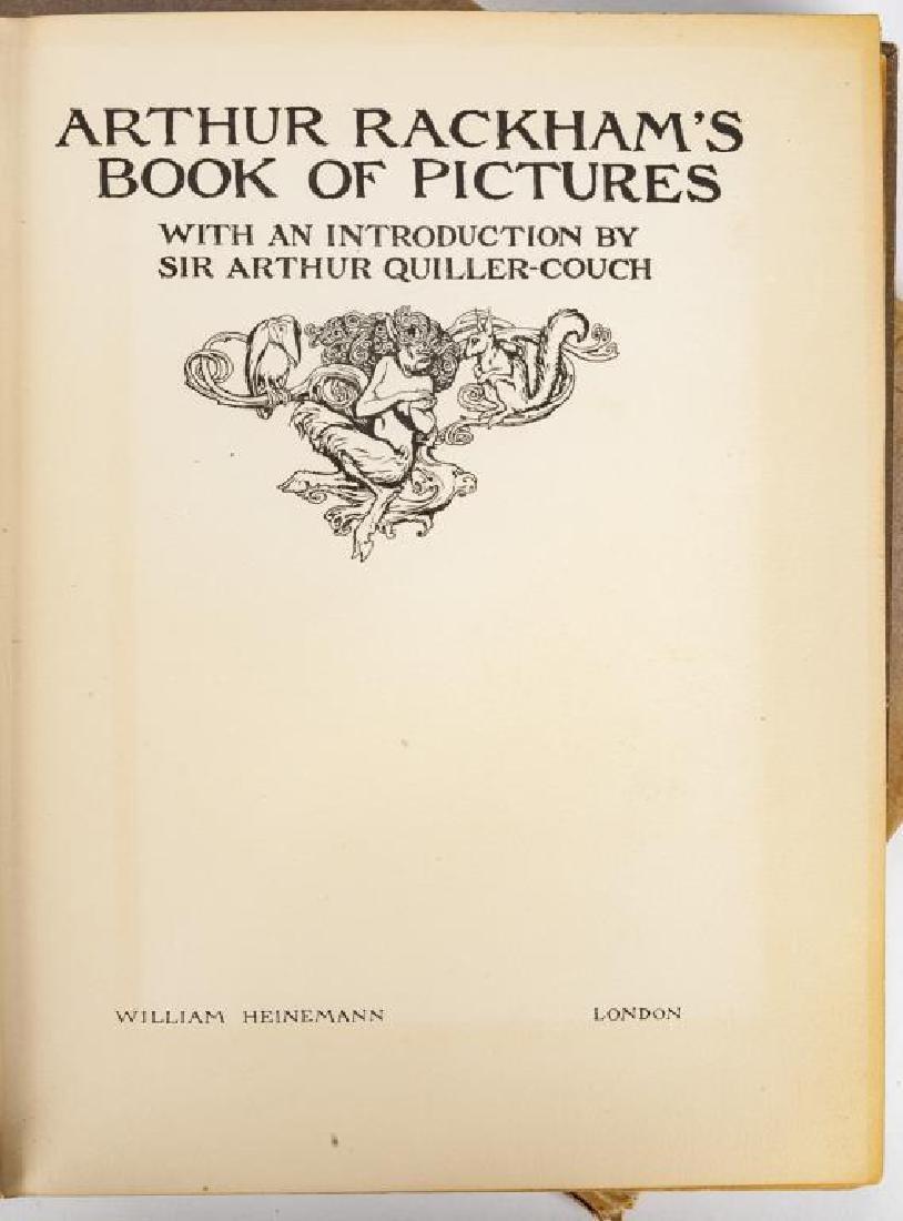 2 Books Incl Arthur Rackham's Book of Pictures - 8