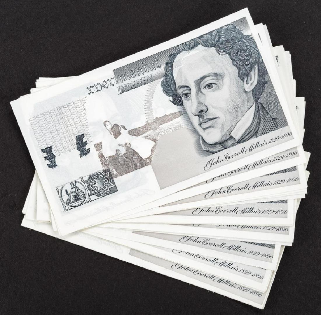 28 Experimental Design Banknote Specimens