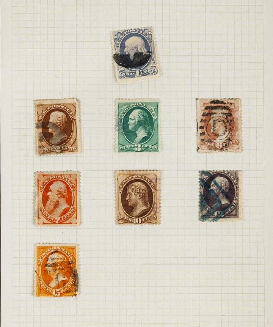 US Stamps American Banknote Issues 1870-1888