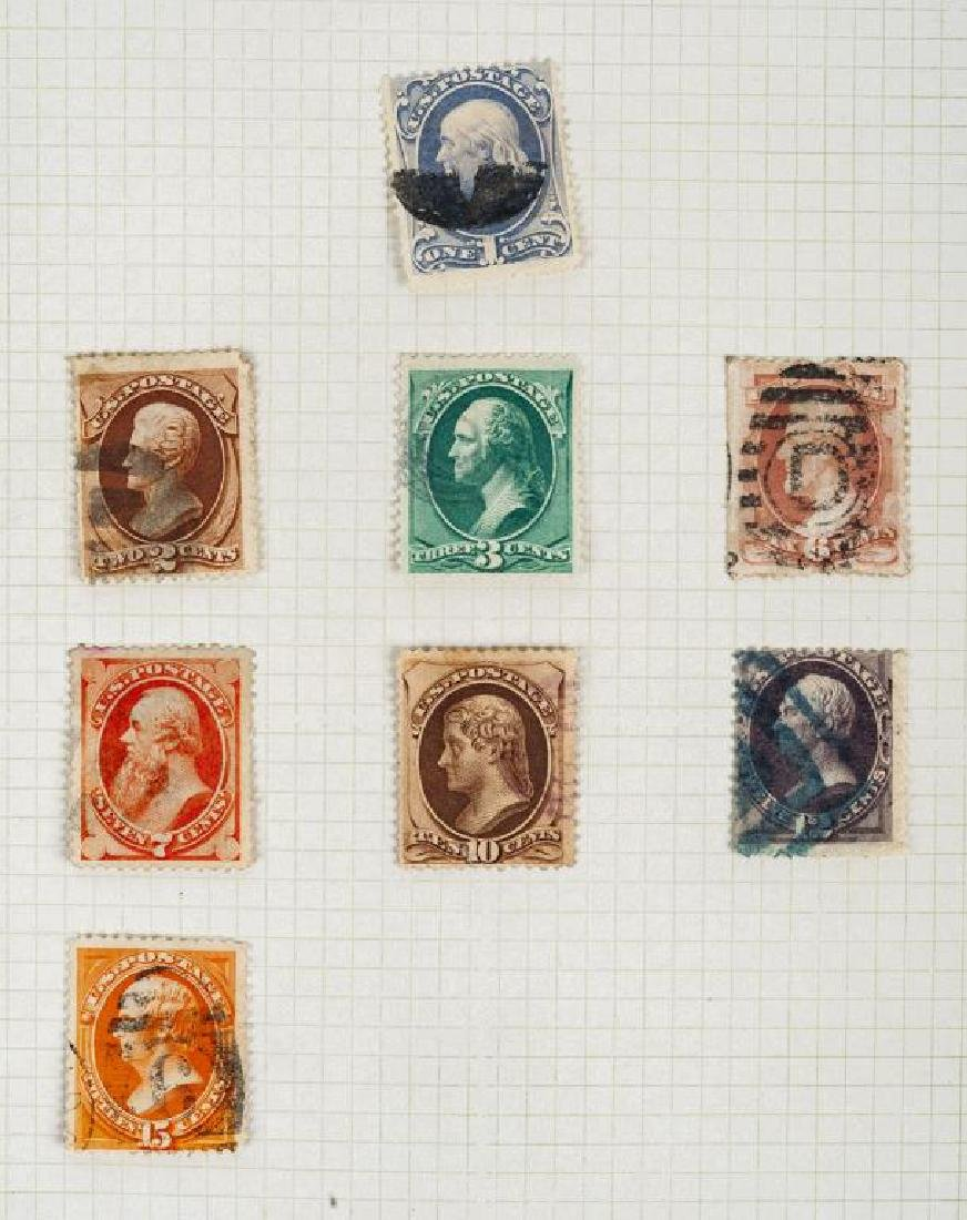 US Stamps American Banknote Issues 1870-1888 - 3