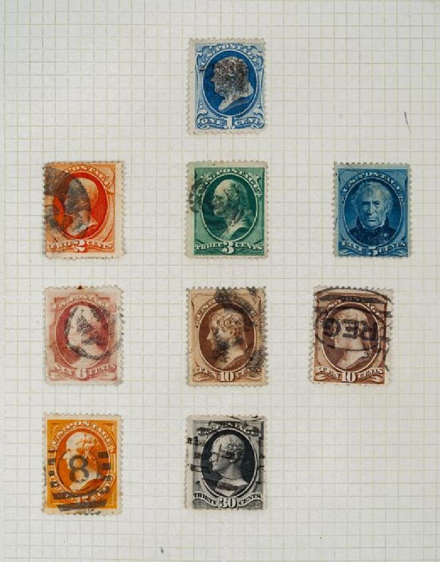 US Stamps American Banknote Issues 1870-1888 - 4
