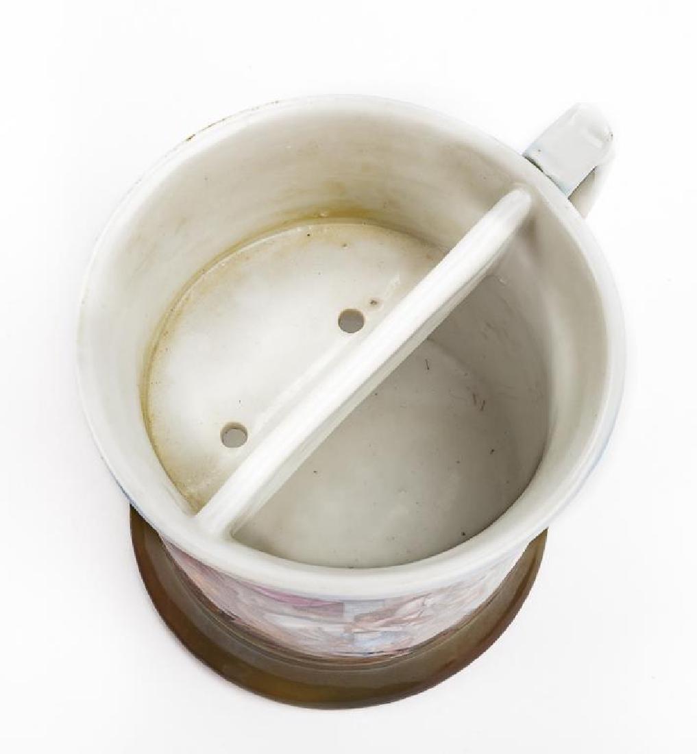 Unmarked Germany Scenic Shaving Mug - 2