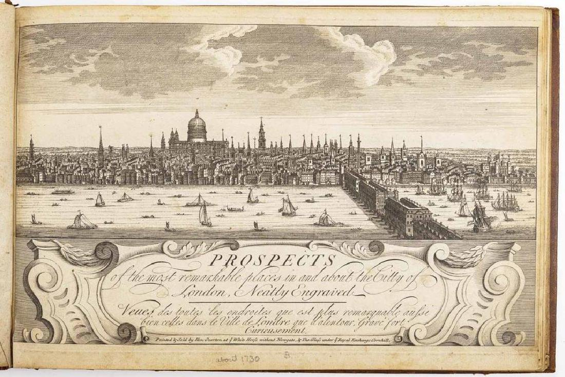 Overton's Prospects of Remarkable Places in London
