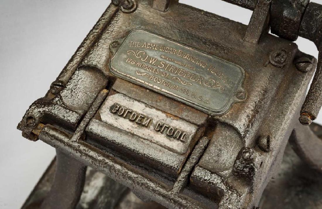 Acme Cigar Branding Machine - 3