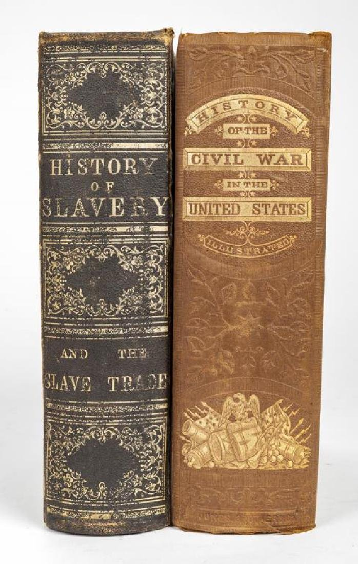 2 Books Incl Blake's The History of Slavery 1859