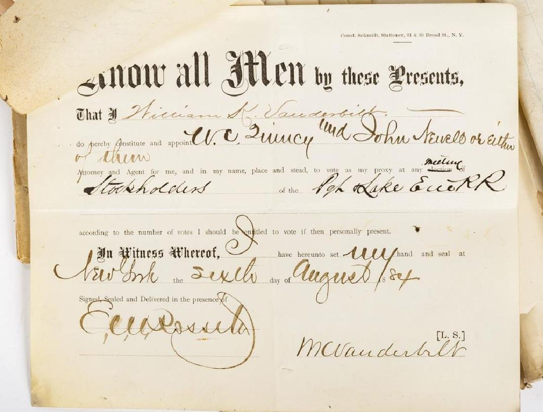 Group of Pittsburgh & Lake Erie Railroad Documents - 3
