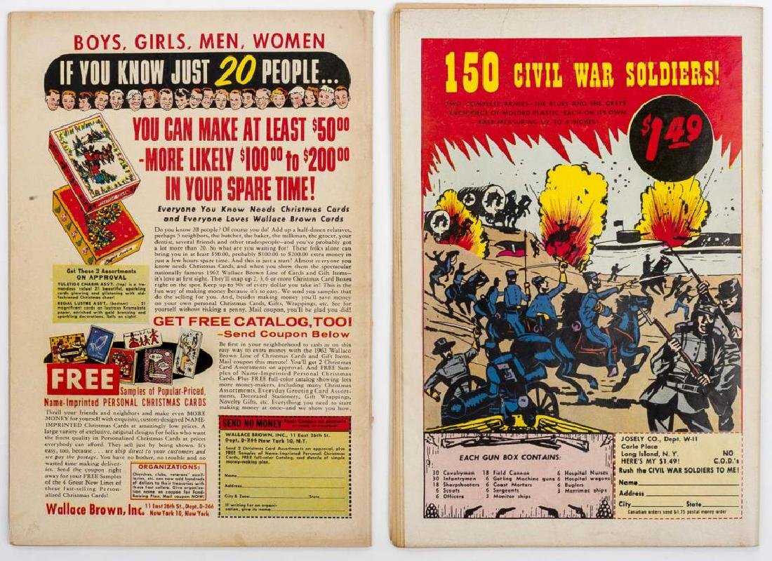 2 1962 Blackhawk Comic Books - 2