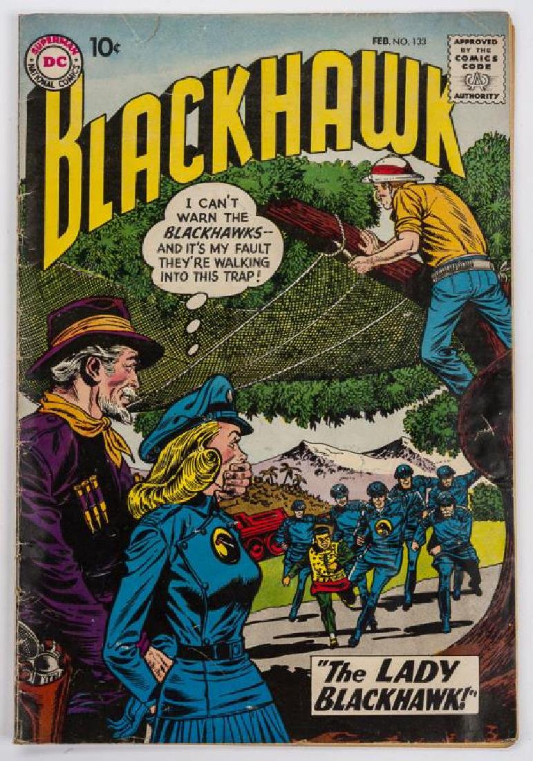 2 1962 Blackhawk Comic Books - 3