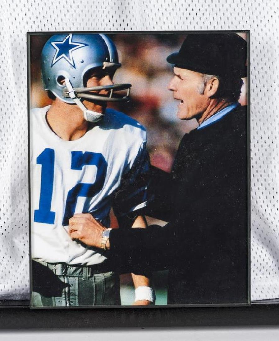 Autographed Roger Staubach Football Jersey - 2
