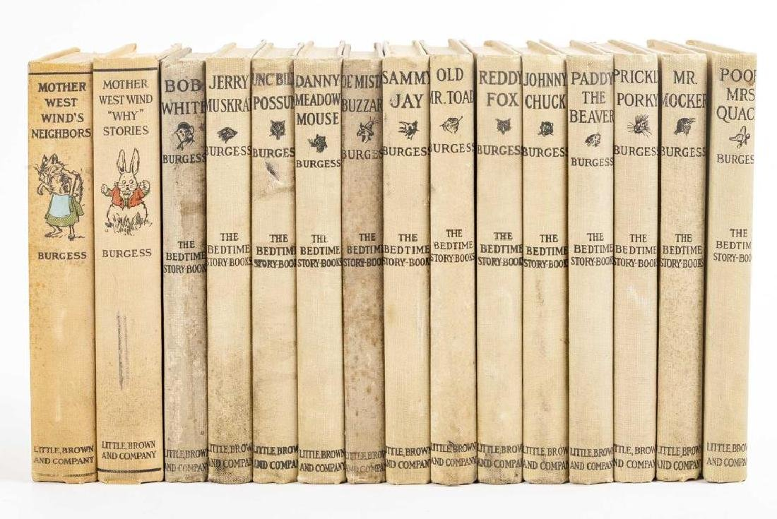 15 Thornton Burgess Bedtime Story Books