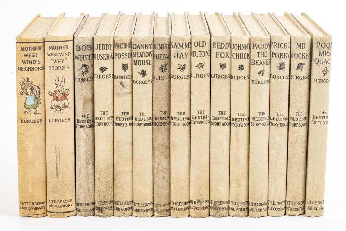 15 Thornton Burgess Bedtime Story Books - 2