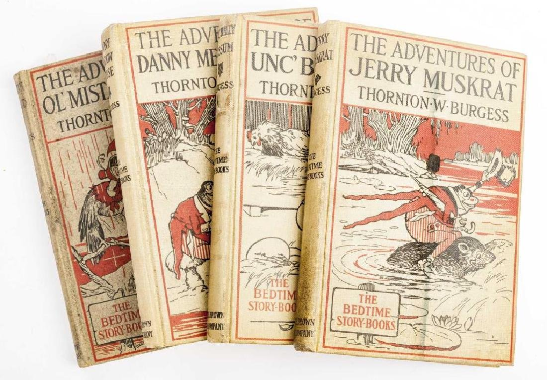 15 Thornton Burgess Bedtime Story Books - 3
