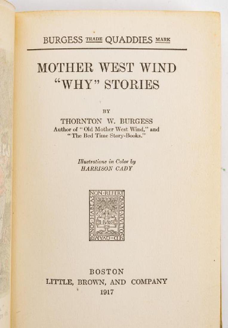 15 Thornton Burgess Bedtime Story Books - 5
