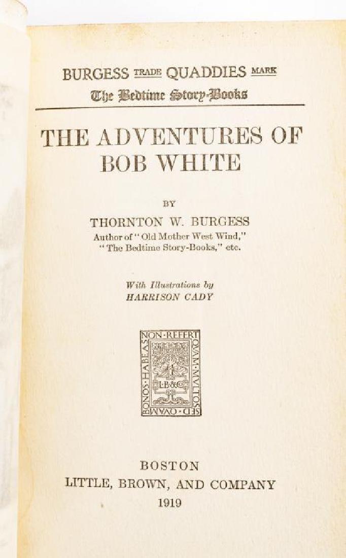 15 Thornton Burgess Bedtime Story Books - 8